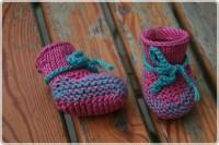 Puppenkinder Strickschuhe