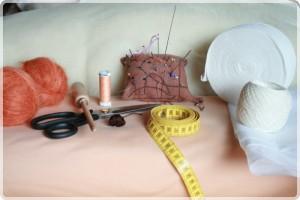 Stoffpuppe entsteht 02 Materialien